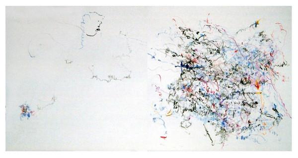 Fractals, pencil on paper